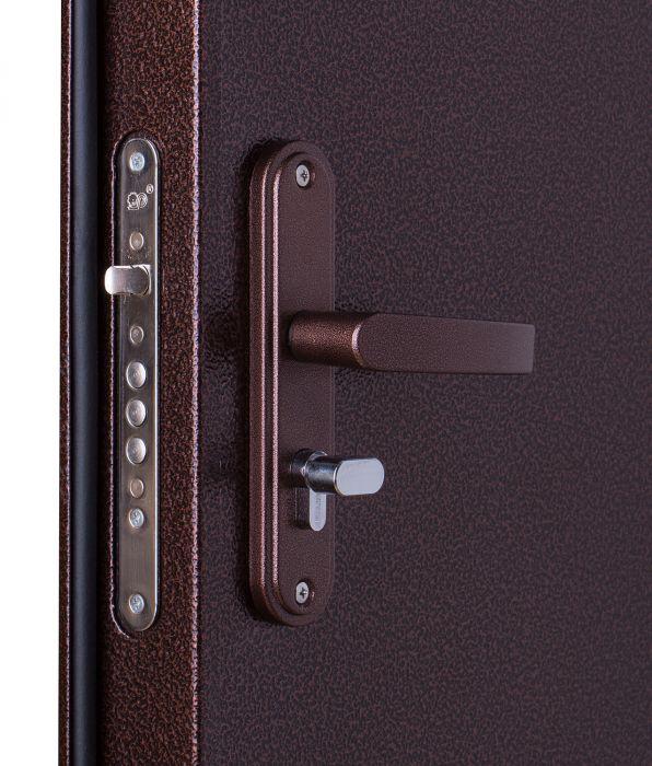 двери металлические двухстворчатые эконом