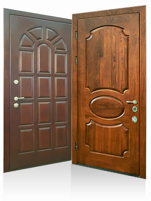 металлические двери с мдф производство продажа в москве